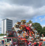 Nottingham Goose Fair, 2009.