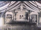Ghost Show interior circa 1900.