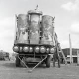 fairground structure and design, circa 1966.