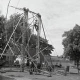 fairground structure and design, circa 1966.