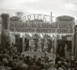 fairground structure and design, circa 1960.