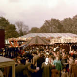 Nottingham Goose Fair, photographed 1956.