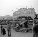 Cambridge Midsummer Fair, photographed 1956.