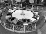 fairground structure and design, 1950s.