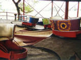 Mosney derelict Amusement Park, 2001.