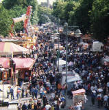 Oxford St Giles Fair, 1999.