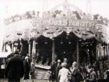 Nottingham Goose Fair, circa 1930.