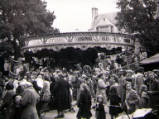Oxford St Giles Fair, circa 1952.