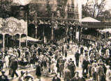 Oxford St Giles Fair, circa 1932.