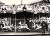 Cleethorpes amusement park, circa 1950.