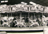 Mablethorpe amusement park, circa 1950.