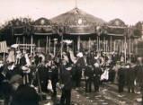 unidentified London Fair, circa 1909.