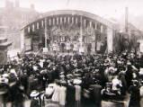 Wisbech Fair, circa 1906.