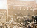 Stratford-upon-Avon Mop Fair, circa 1904.