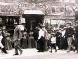 Oxford St Giles Fair, circa 1900.