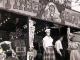 Newcastle Town Moor Fair, circa 1953.