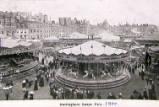 Nottingham Goose Fair, circa 1900.