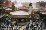 Nottingham Goose Fair, circa 1904.