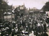 Oxford St Giles Fair, circa 1910.