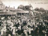 Oxford St Giles Fair, circa 1904.