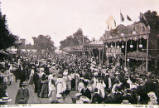 Oxford St Giles Fair, circa 1904.