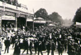 Oxford St Giles Fair, circa 1909.