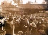 Oxford St Giles Fair, circa 1920.
