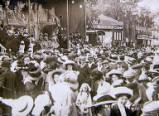 Oxford St Giles Fair, circa 1911.