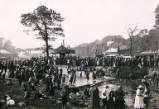 Newcastle Town Jesmond Dene Fair, circa 1914.