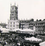 Cheltenham Fair, circa 1960.