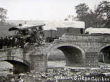 Wooler Bridge accident, circa 1905.