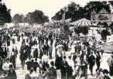 Oxford St Giles Fair, circa 1896.