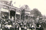 Oxford St Giles Fair, circa 1911.