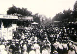 Oxford St Giles Fair, circa 1913.