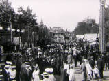 Oxford St Giles Fair, circa 1905.