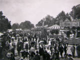 Oxford St Giles Fair, circa 1905.