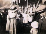 Yarm Fair, circa 1909.