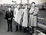 Peterborough North Station, 1961.