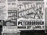 Smart's Circus, Peterborough, 1961.