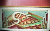 stall shutter, 1984.