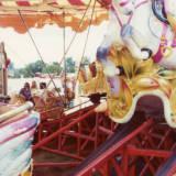 Bromyard Gala Steam Fair, 1974.