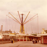 Blackpool Pleasure Beach, 1977.