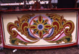 painted fairground work, 1974.
