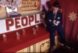Hoopla stall, 1974.