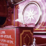 traction engine detail, 1974.