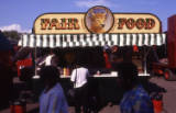 fairground food stall, circa 1990