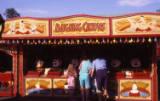 fairground clowns stall, circa 1990