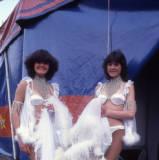 Circus performers circa 1984.