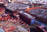 Bridgwater aerial view, 1974.