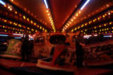 Waltzer interior at night, 1974.